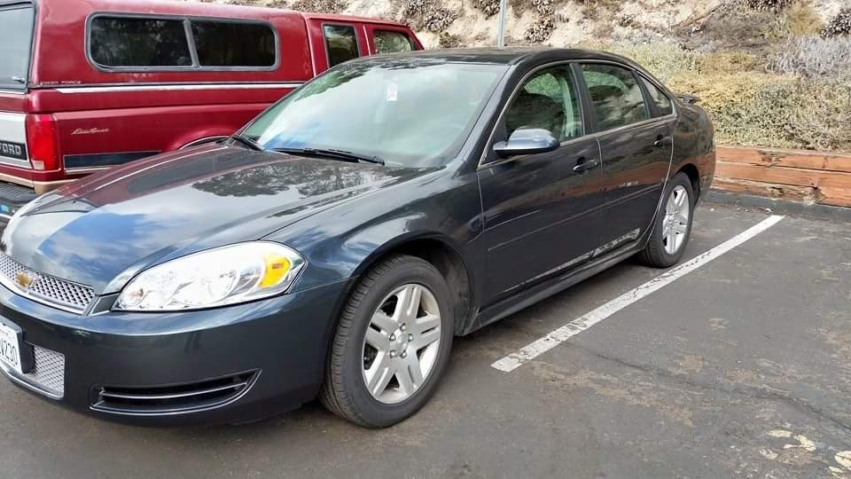 Ashen Gray metallic 2013 Chevrolet Impala LT Flex fuel