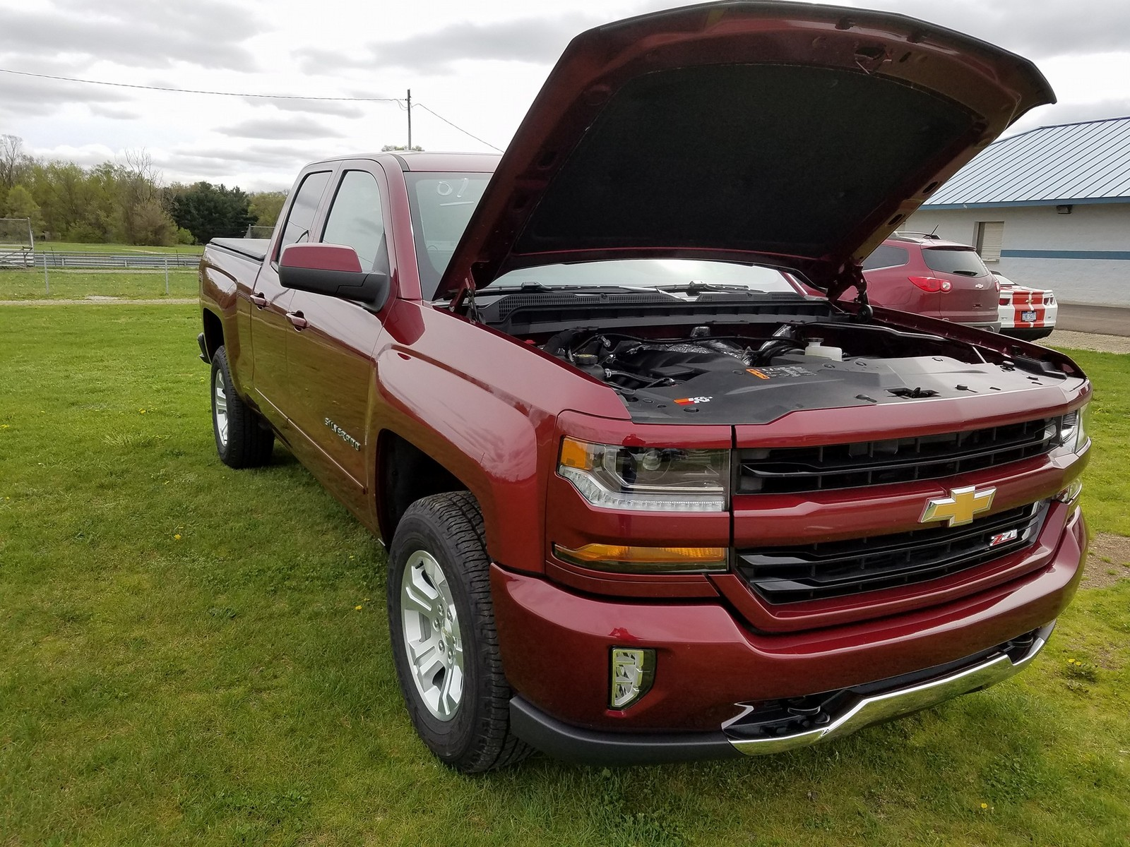Dark Red Metallic 2017 Chevrolet CK1500 Truck Z71 Double Cab 4x4