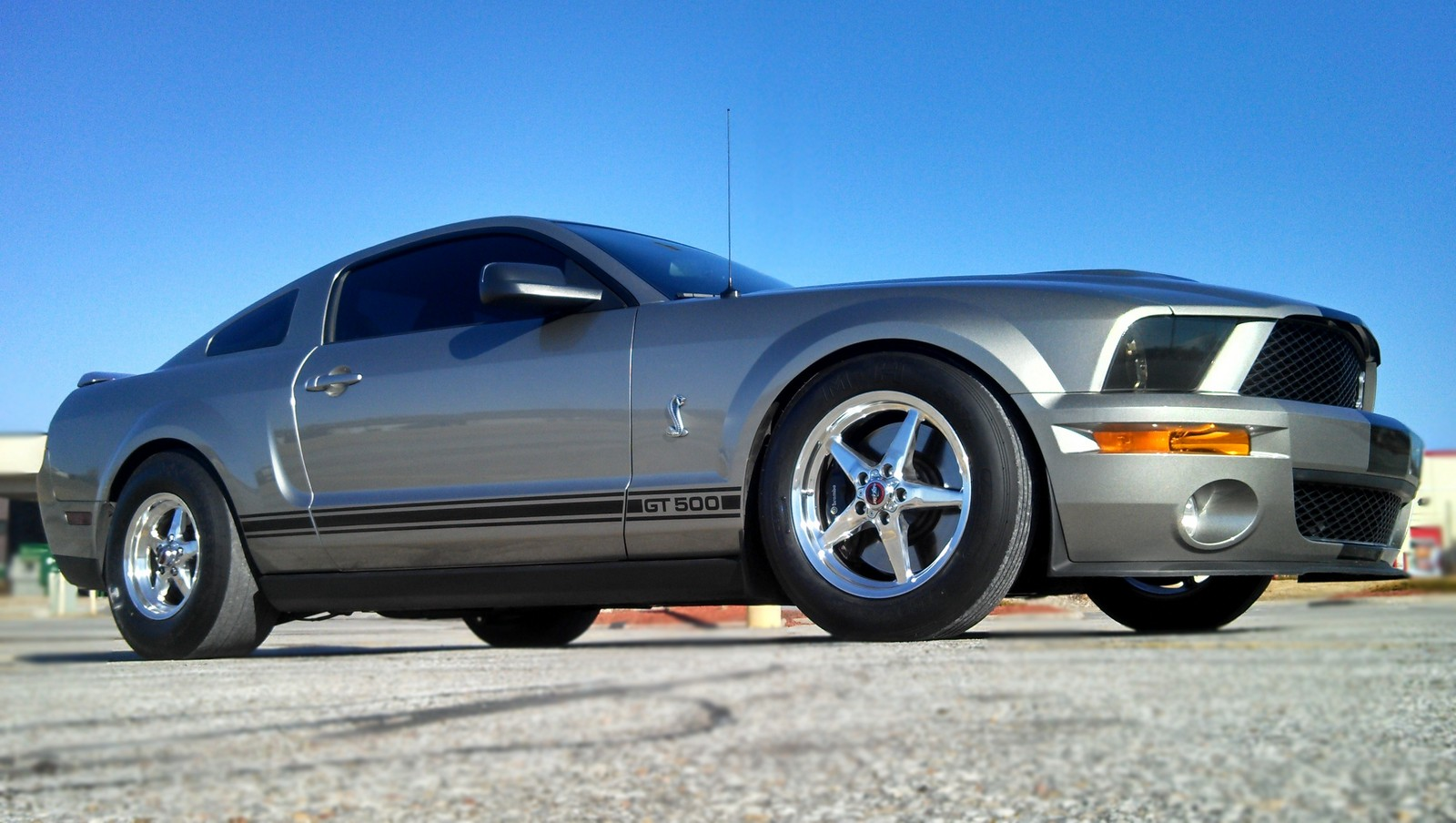 Vapor Silver 2008 Ford Mustang Shelby-GT500 GT500