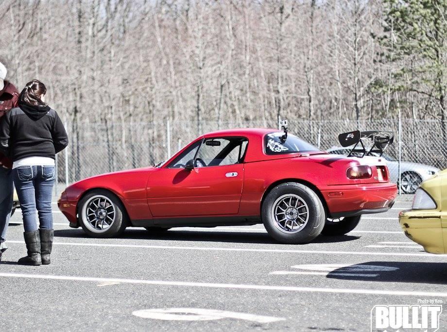 1990 Mazda Miata Mx5 Base 1 4 Mile Drag Racing Timeslip Specs 0 60
