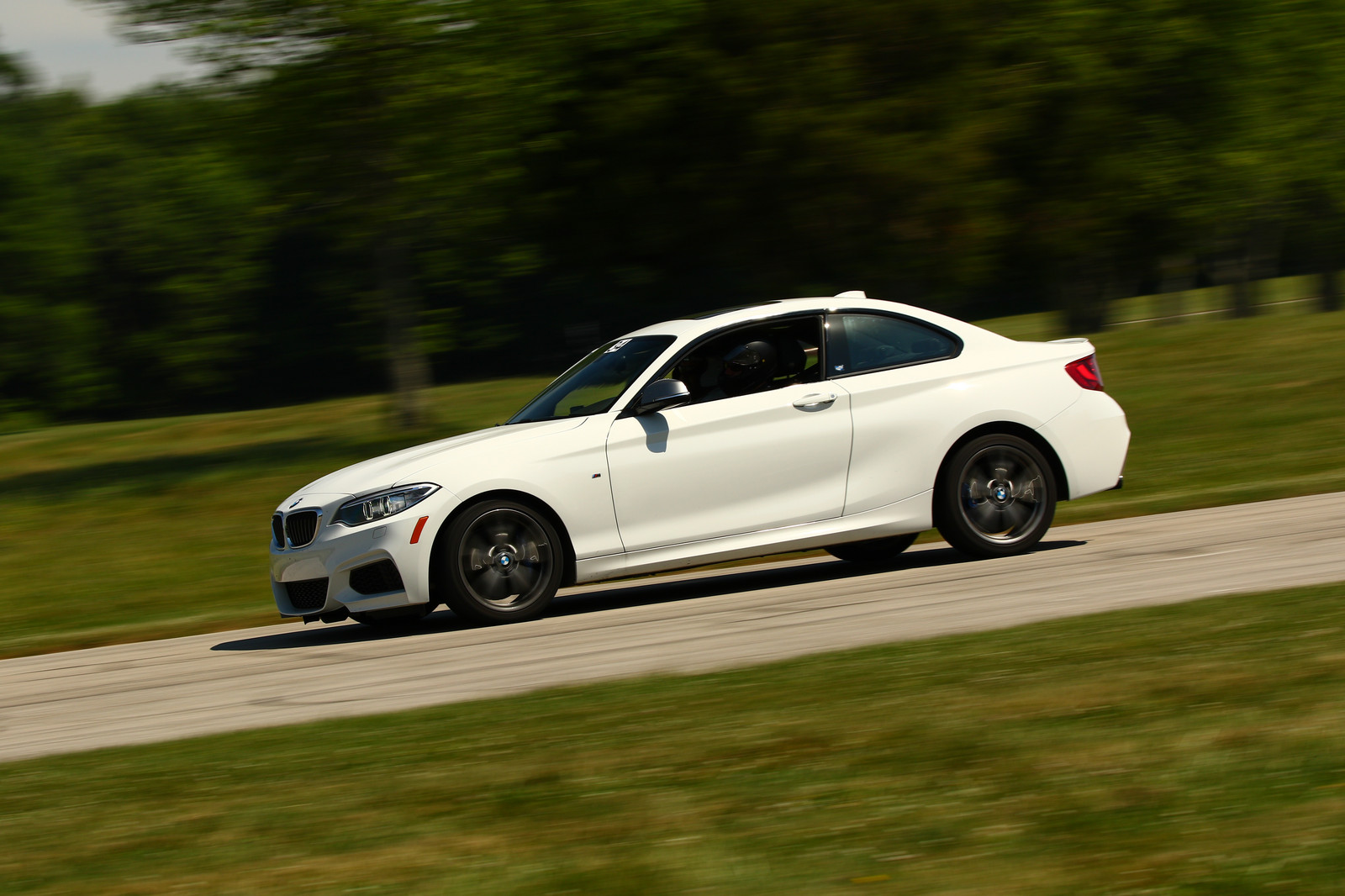 Alpine White 2014 BMW M235i