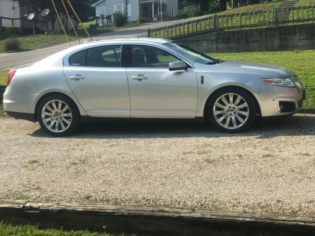 2010 Lincoln MKS 3.5 ecoboost 1/4 mile Drag Racing timeslip specs 0 ...