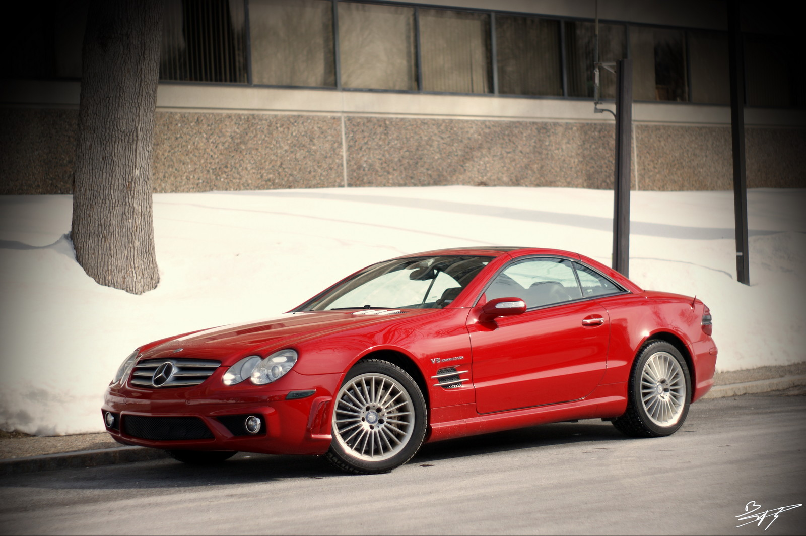 2005 mercedes benz sl55 amg 1 4 mile trap speeds 0 60 for Mercedes benz sl55 amg