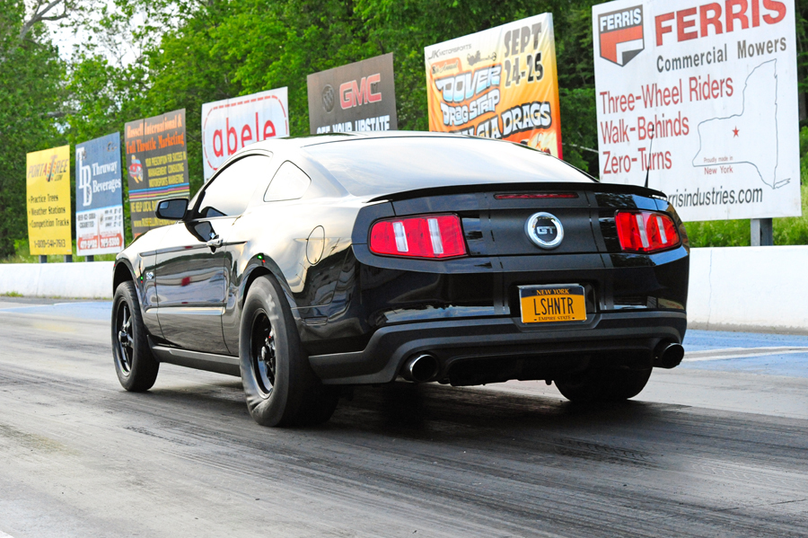 2012 Ford Mustang GT 1/4 mile Drag Racing timeslip specs 0-60 ...
