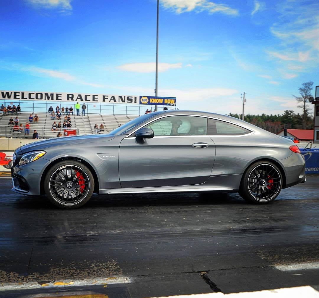 Selenite Grey 2017 Mercedes-Benz C63 AMG S Coupe