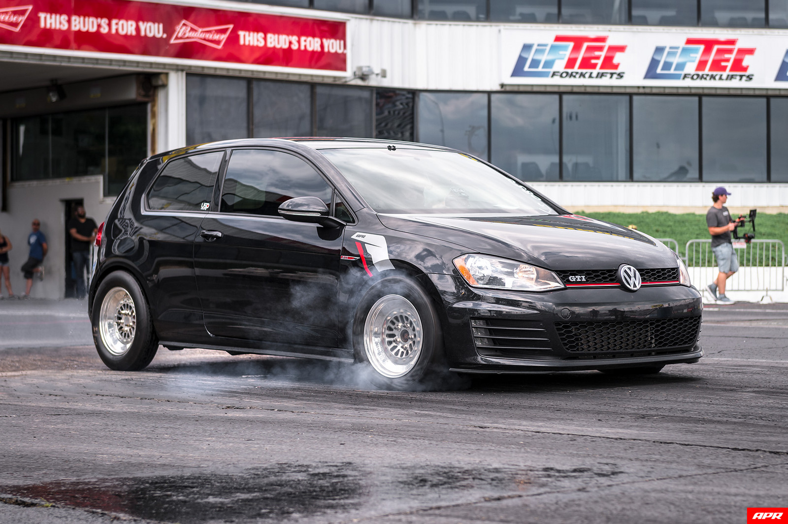2015 Black Volkswagen GTI MK7 picture, mods, upgrades