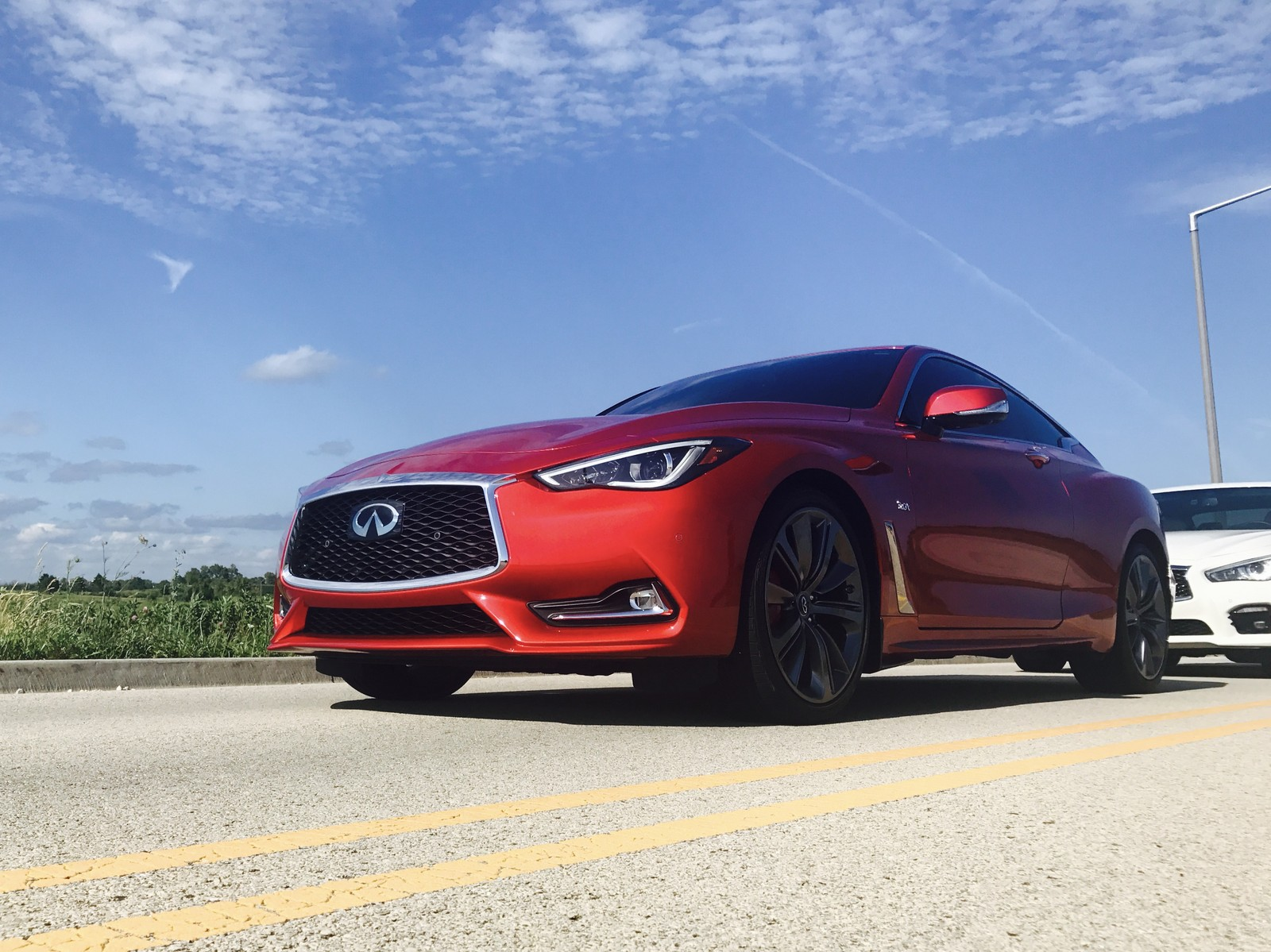 2017 Infiniti Q60 Red Alpha 1 4 Mile Drag Racing Timeslip Specs 0 60