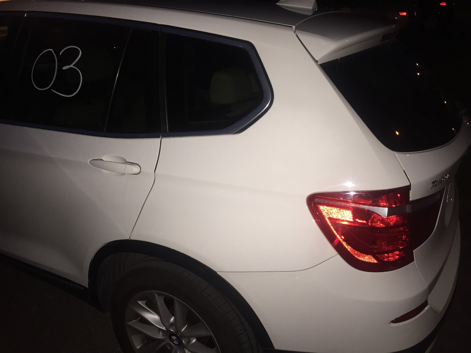 2013 White BMW X3 35i picture, mods, upgrades