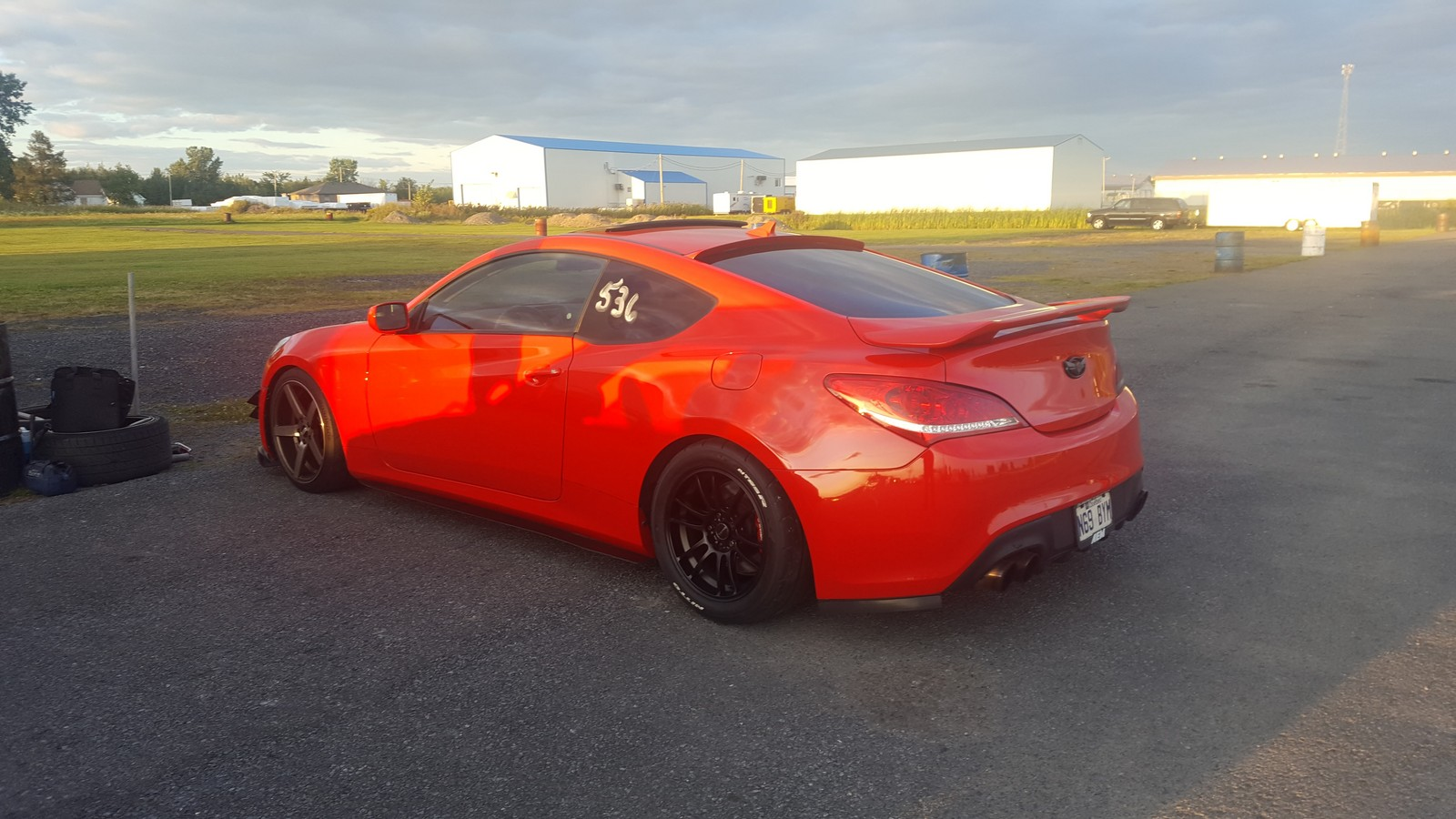 Red 2011 Hyundai Genesis Coupe RSpecs