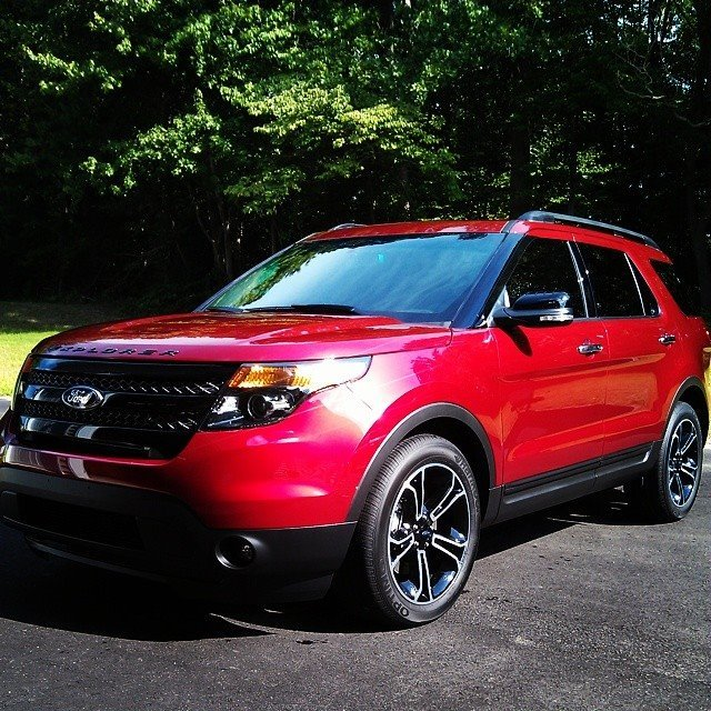 Stock 2014 Ford Explorer Sport 1/4 Mile Drag Racing