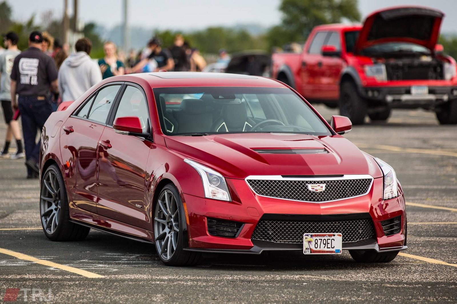 Stock 2016 Cadillac ATS-V 1/4 mile Drag Racing timeslip specs 0-60