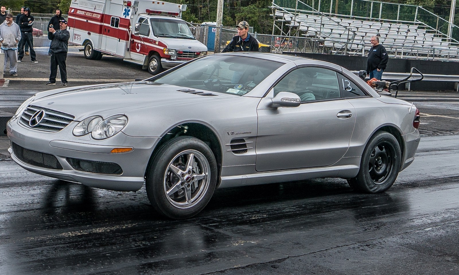 2003 silver mercedes benz sl55 amg pictures mods upgrades wallpaper. Black Bedroom Furniture Sets. Home Design Ideas