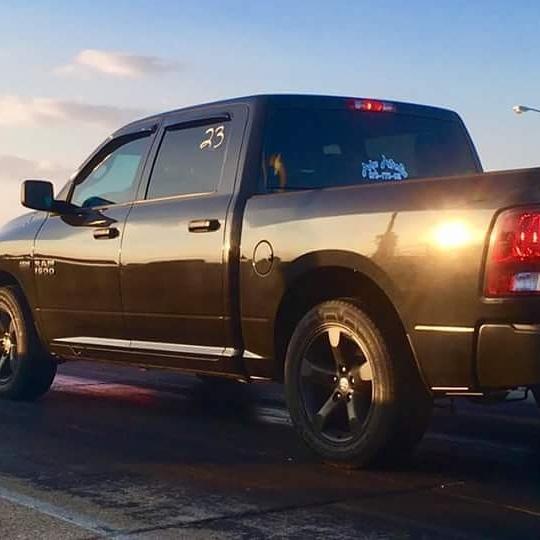 2016 Dodge Ram 1500 Tradesman Crew Cab 1 4 Mile Drag Racing Timeslip Specs 0 60