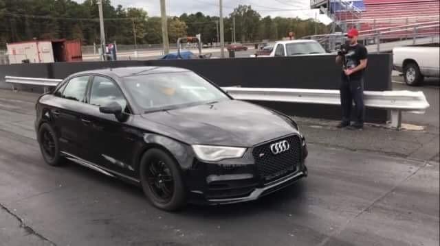 Audi S IMS Mile Drag Racing Timeslip Specs - Audi s3 0 60