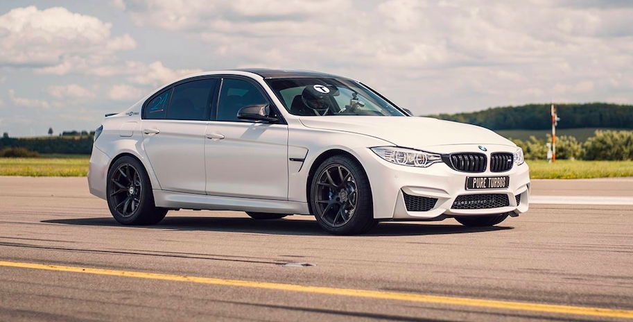 Frozen Brilliant White 2016 BMW M3 F80