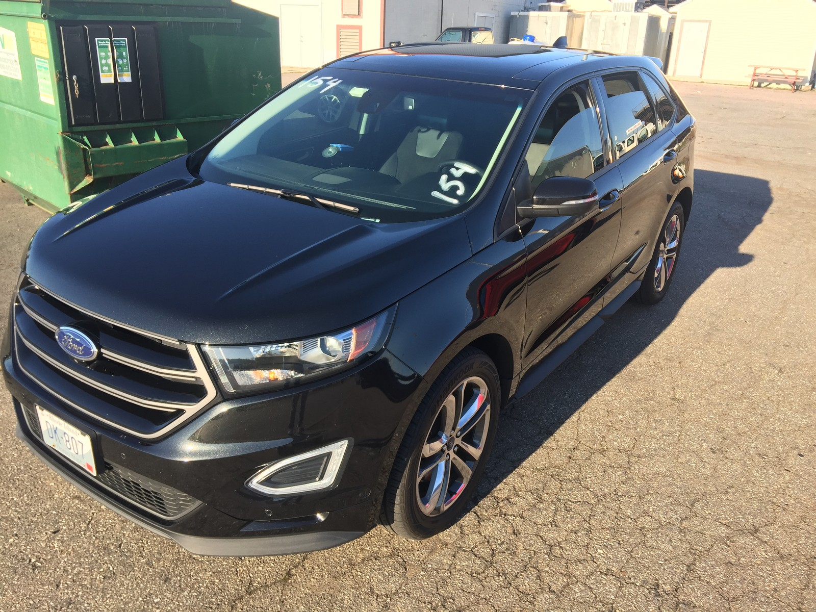 Black  Ford Edge Sport Awd