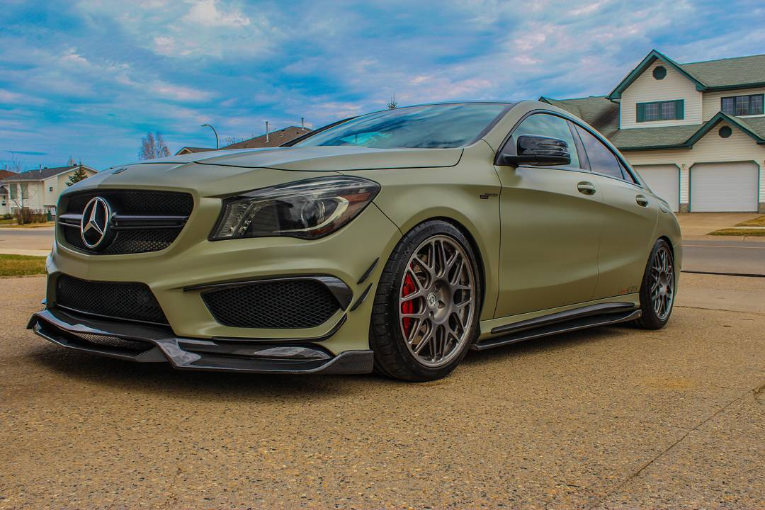 2014 mercedes benz cla45 amg 1 4 mile drag racing timeslip for Mercedes benz racing parts