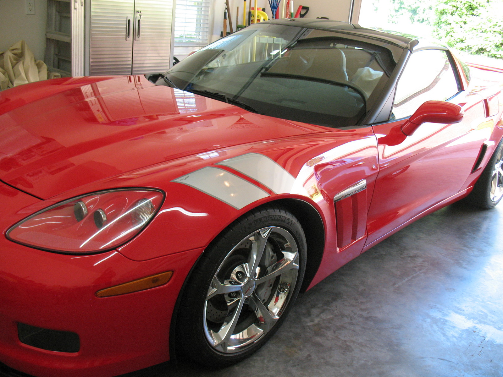 Torch Red 2010 Chevrolet Corvette Grand Sport