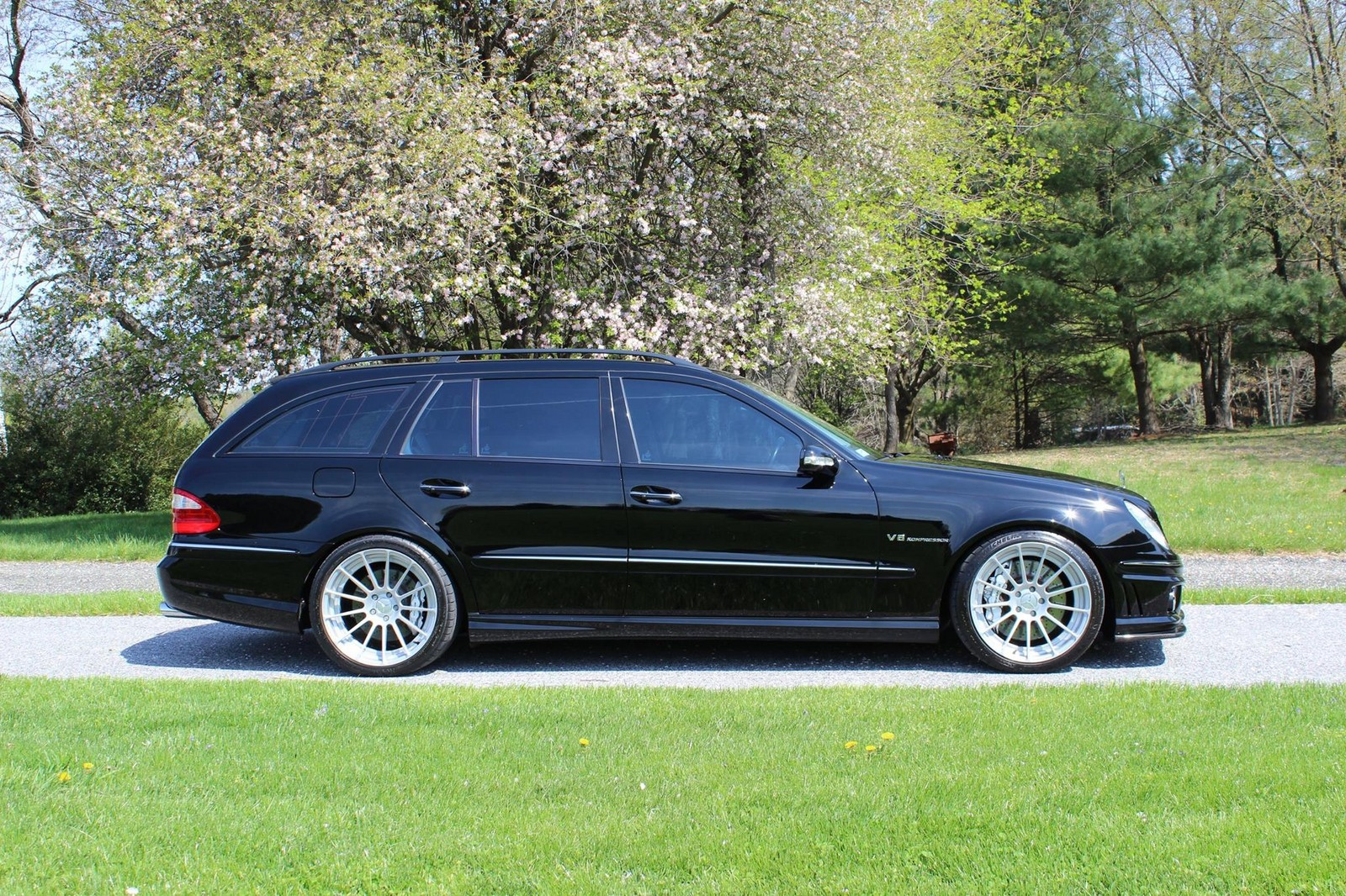 2006 mercedes benz e55 amg wagon 1 4 mile trap speeds 0 60. Black Bedroom Furniture Sets. Home Design Ideas