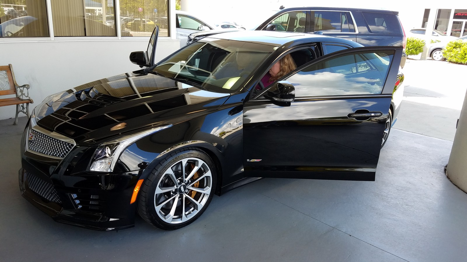 2016 Black Cadillac ATS-V V picture, mods, upgrades