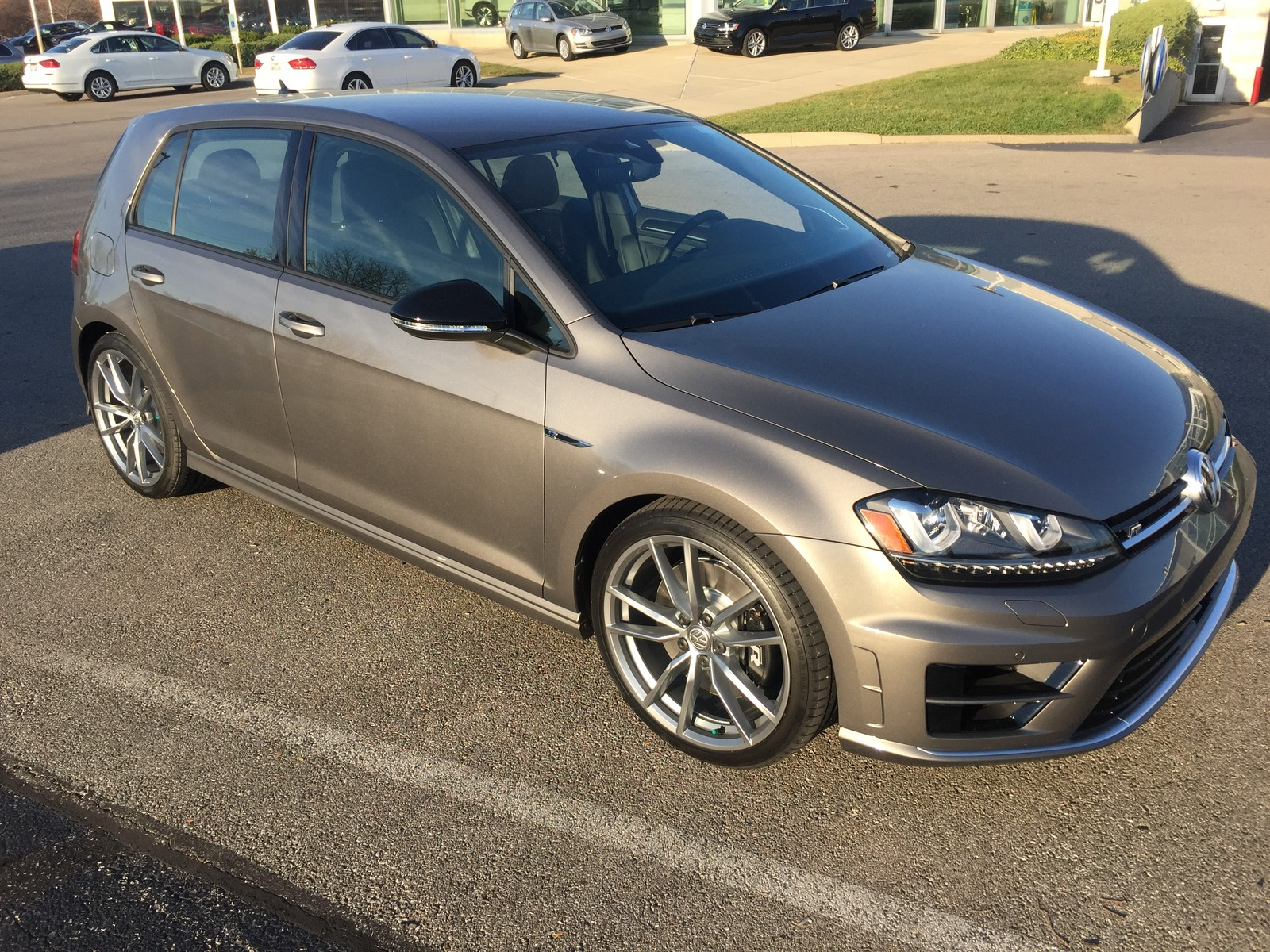 Golf R 0-60 >> Stock 2017 Volkswagen Golf R Dsg 1 4 Mile Trap Speeds 0 60