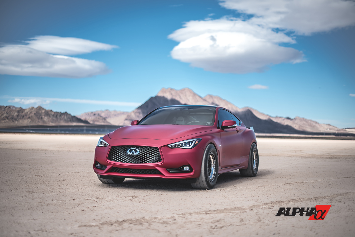 RED 2017 Infiniti Q60 Red Alpha