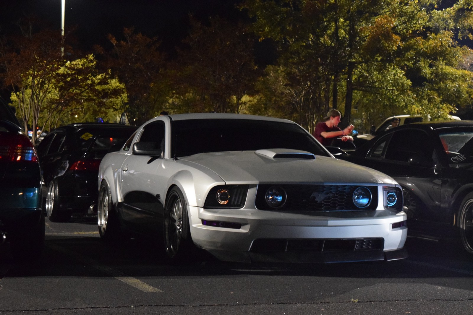 Silver 2007 Ford Mustang Gt