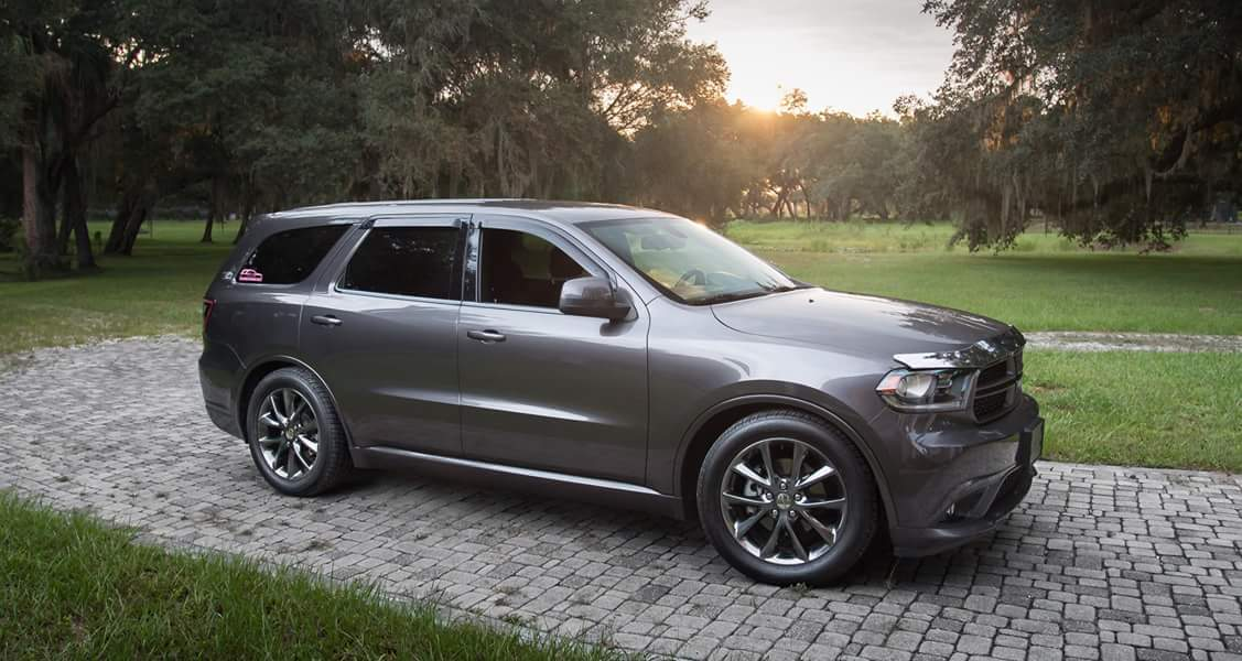 Granite Crystal Metallic  2014 Dodge Durango SXT+ Rallye