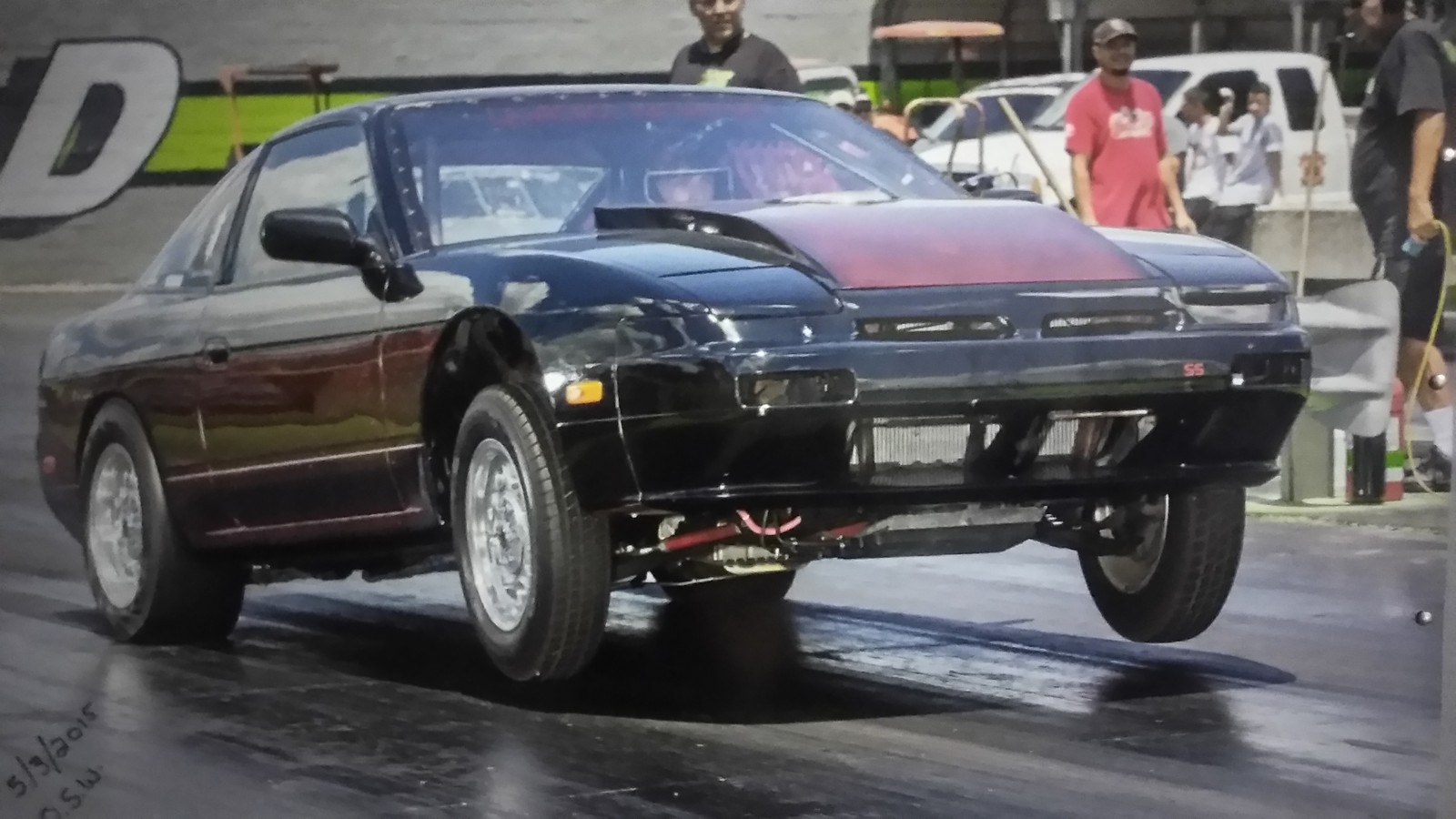1989 Nissan 240sx Hatch 1 4 Mile Drag Racing Timeslip Specs 0 60