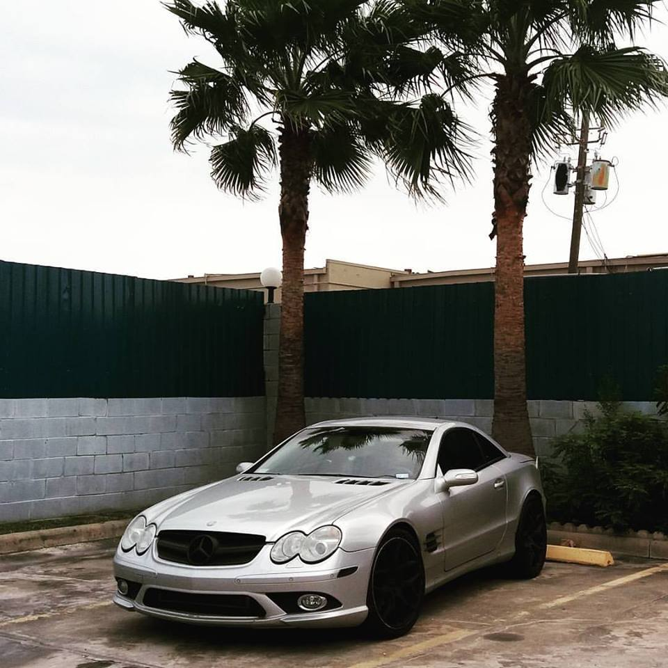 2004 Silver Mercedes-Benz SL600  picture, mods, upgrades