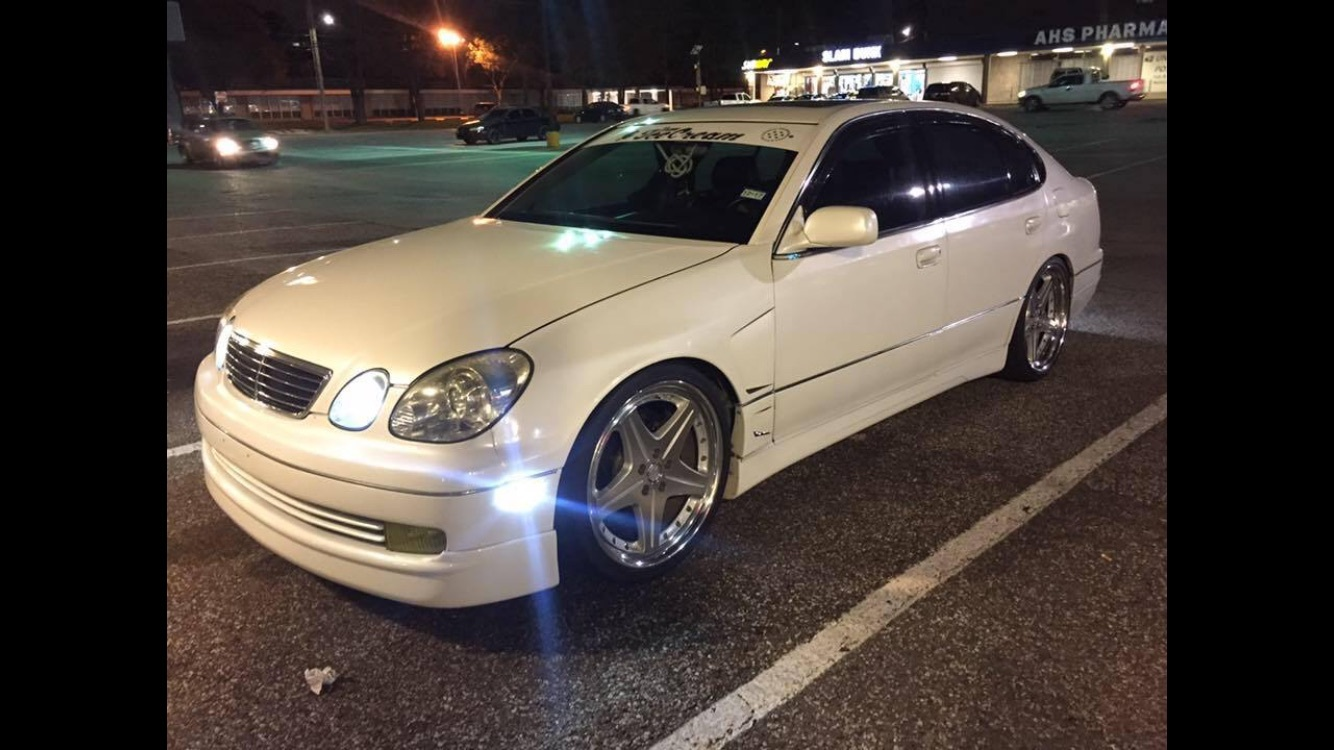 White Diamond Pearl 1998 Lexus GS300