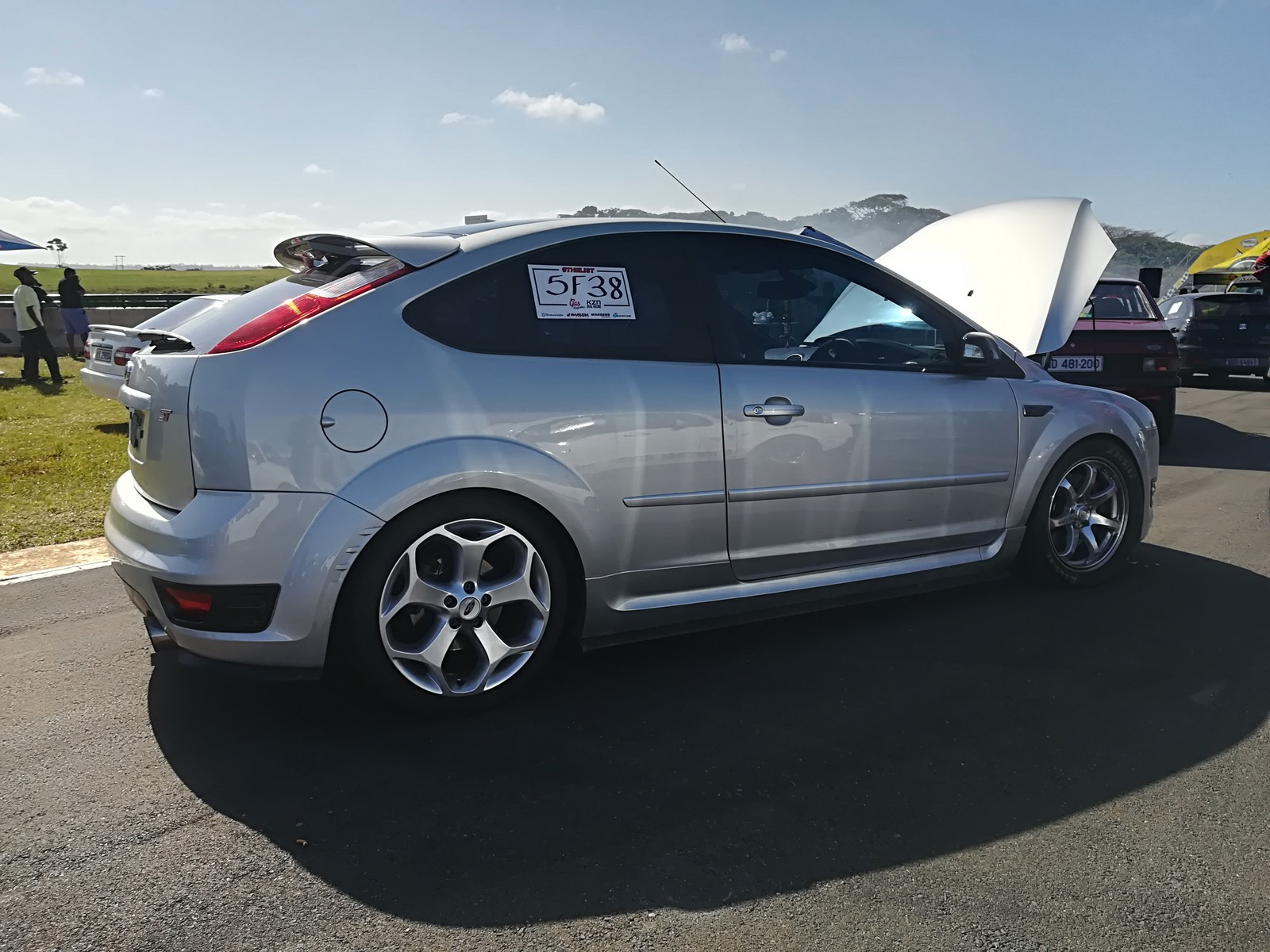 2008 Silver Ford Focus ST picture, mods, upgrades