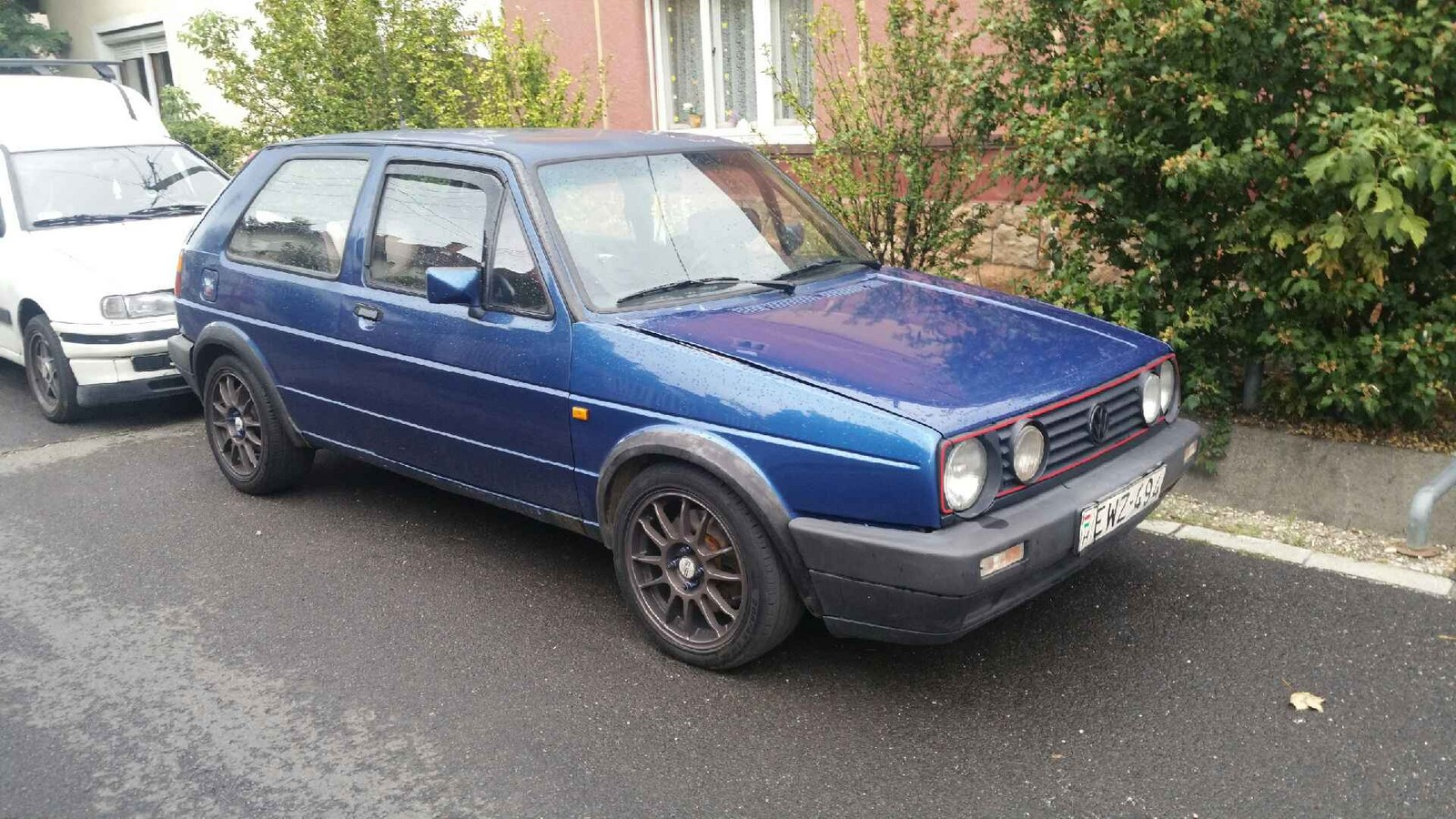 Deep Metallic Blue 1986 Volkswagen Golf mk2 1.9PD 4Motion