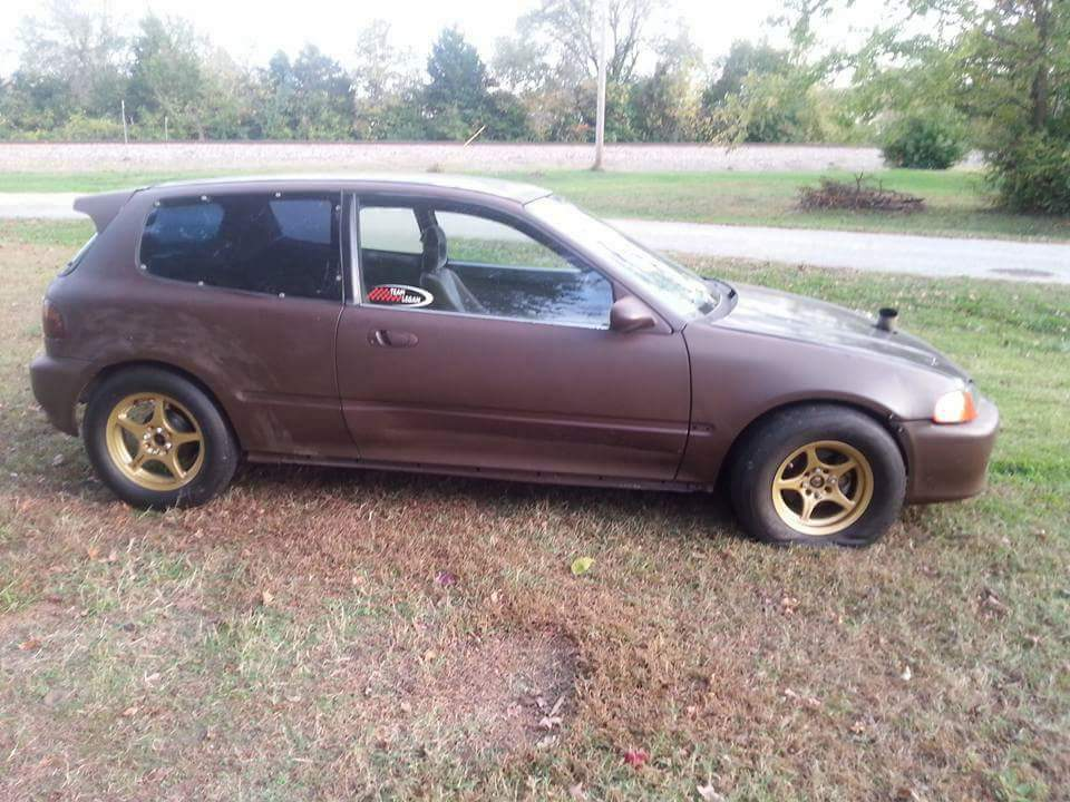 1992 Brown Honda Civic Hatchback Picture, Mods, Upgrades