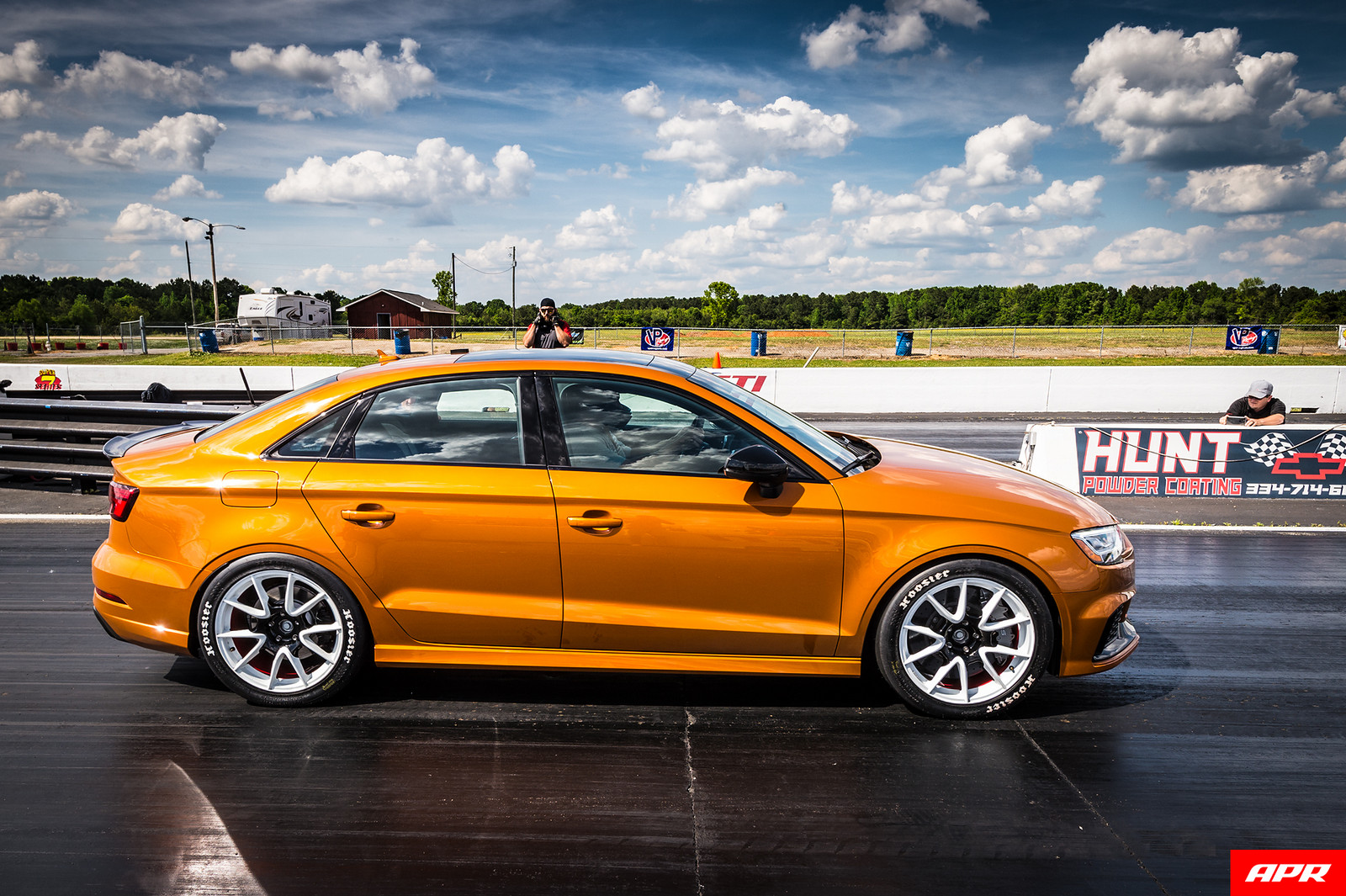 2018 Orange Audi RS-3 (8V) Sedan picture, mods, upgrades