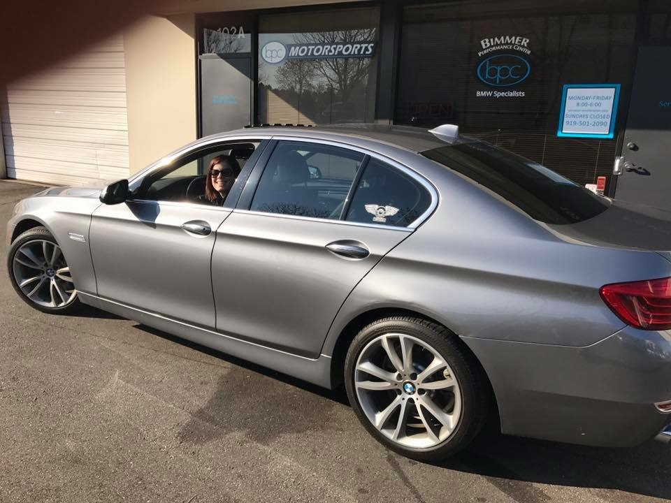 Space Grey 2014 BMW 535d