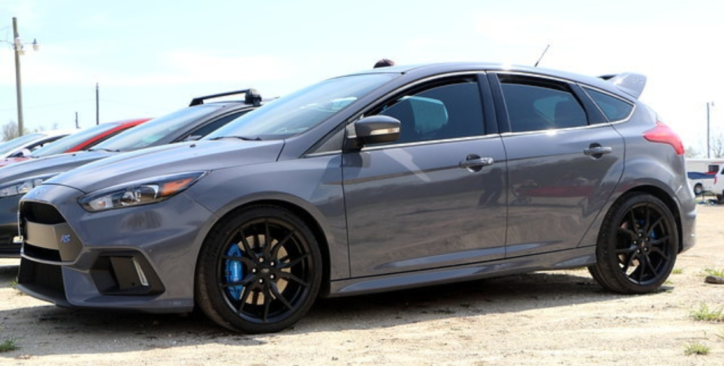Stealth Grey 2017 Ford Focus Rs
