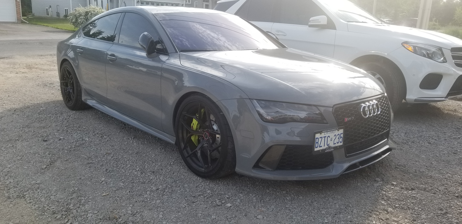 Nardo Grey 2014 Audi RS-7