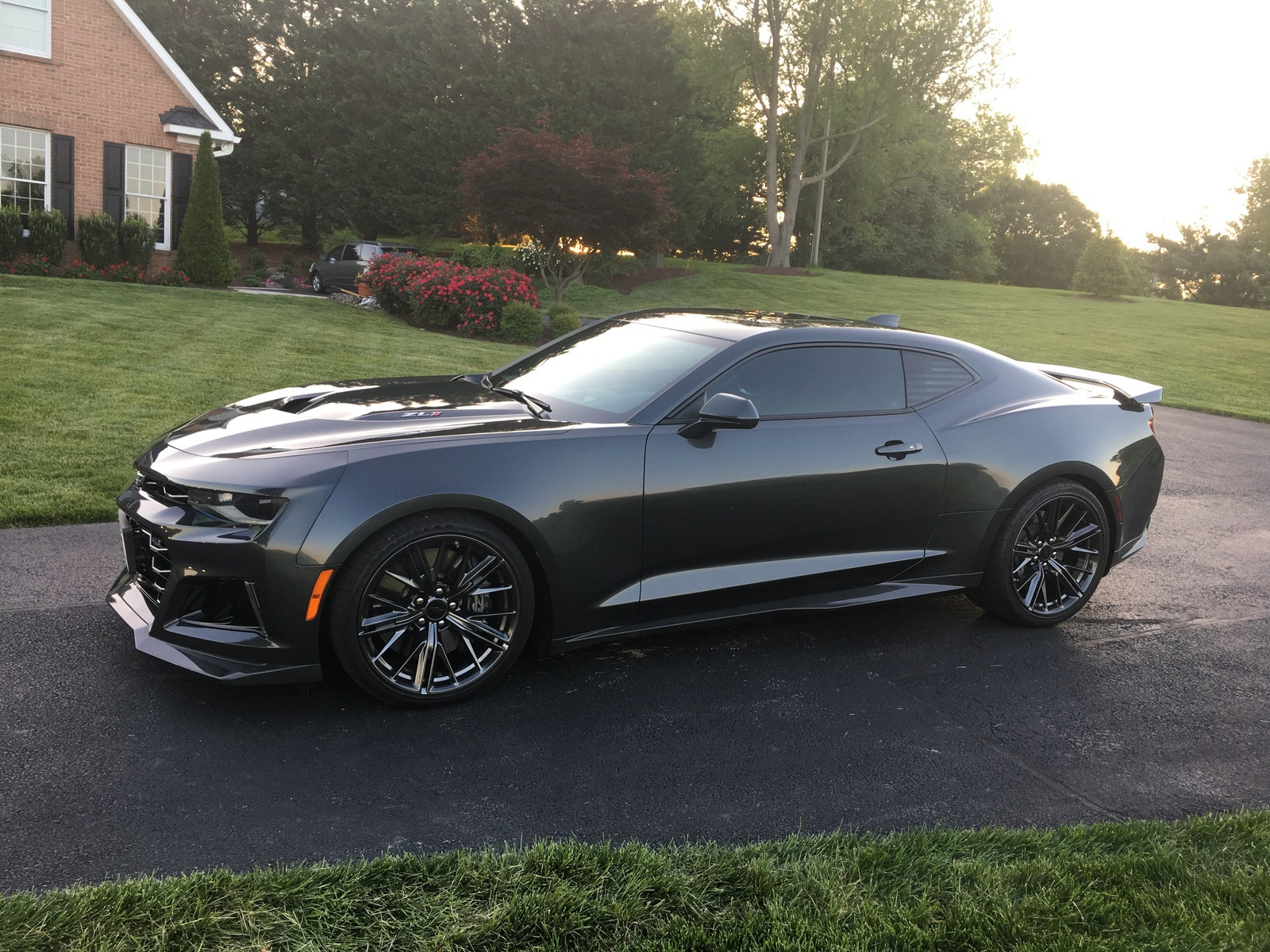Stock 2018 Chevrolet Camaro ZL1 14 Mile Trap Speeds 0 60