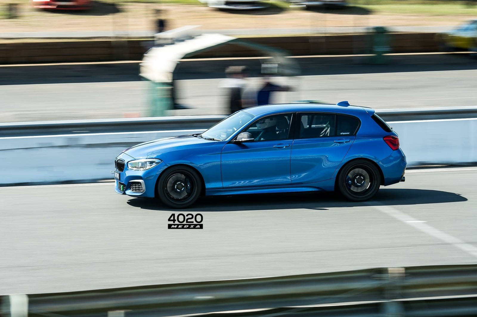 Estoril Blue 2016 BMW M135i