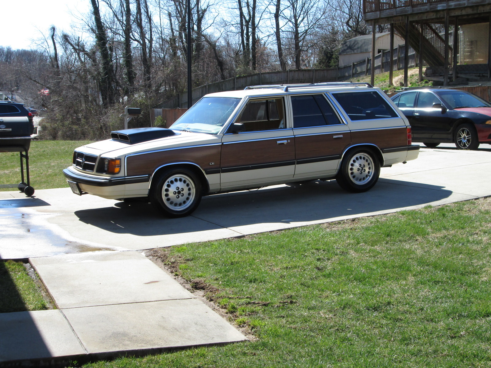 1987 Yellow Dodge Aries SE picture, mods, upgrades