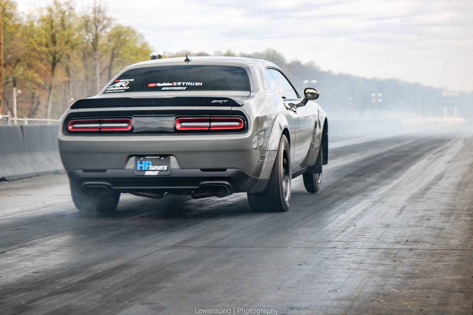 Destroyer grey  2018 Dodge Challenger Demon Demon