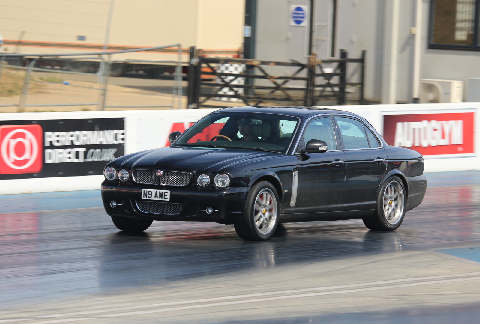 Black Cherry 2003 Jaguar XJR Super V8