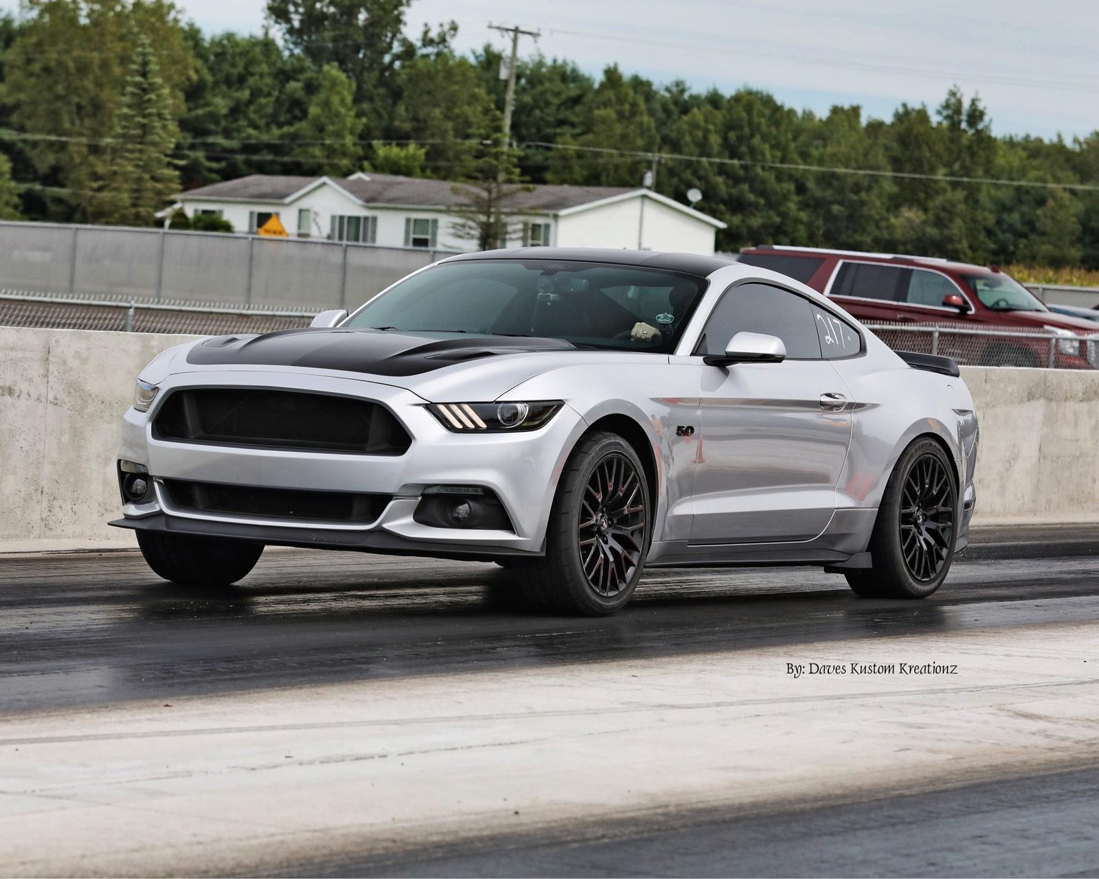 Ingot Silver 2016 Ford Mustang Gt
