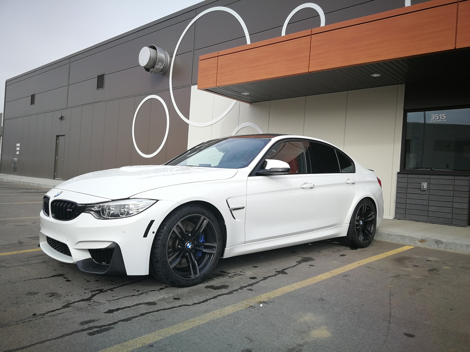 Alpine White 2016 Bmw M3