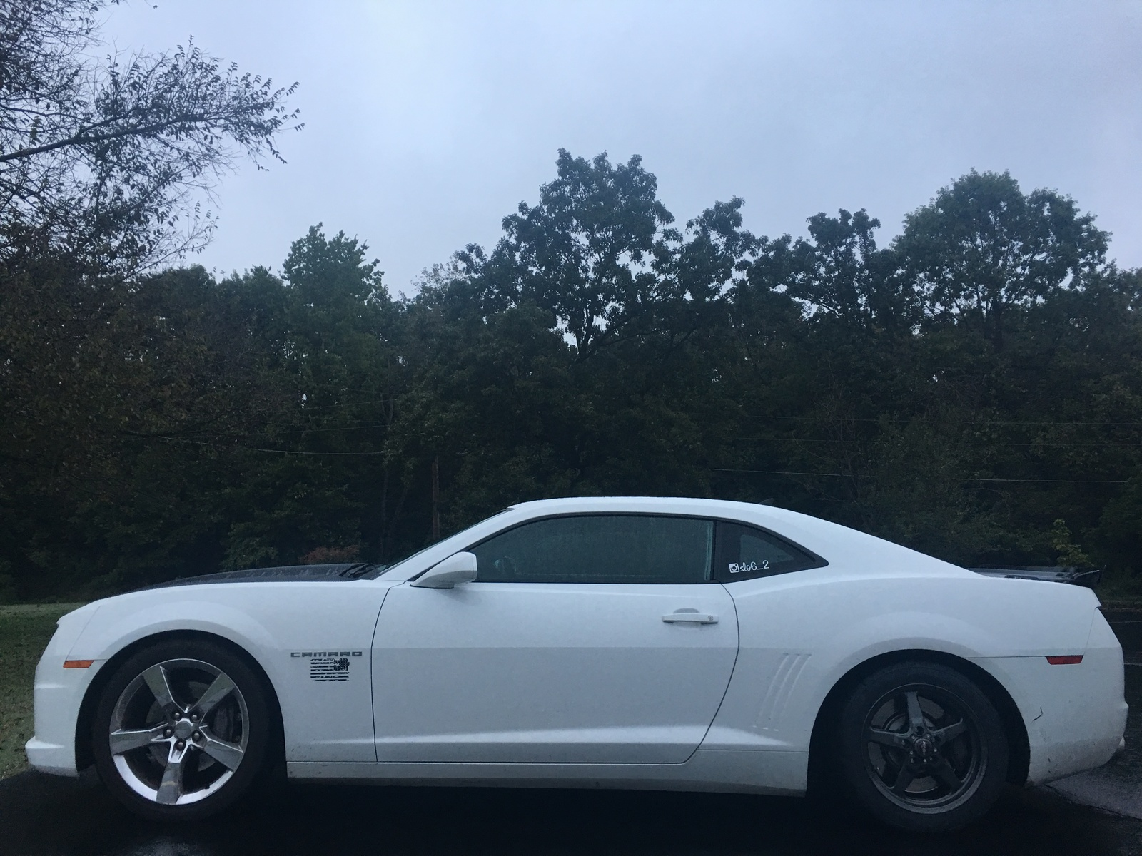 White 2010 Chevrolet Camaro 2SS/RS