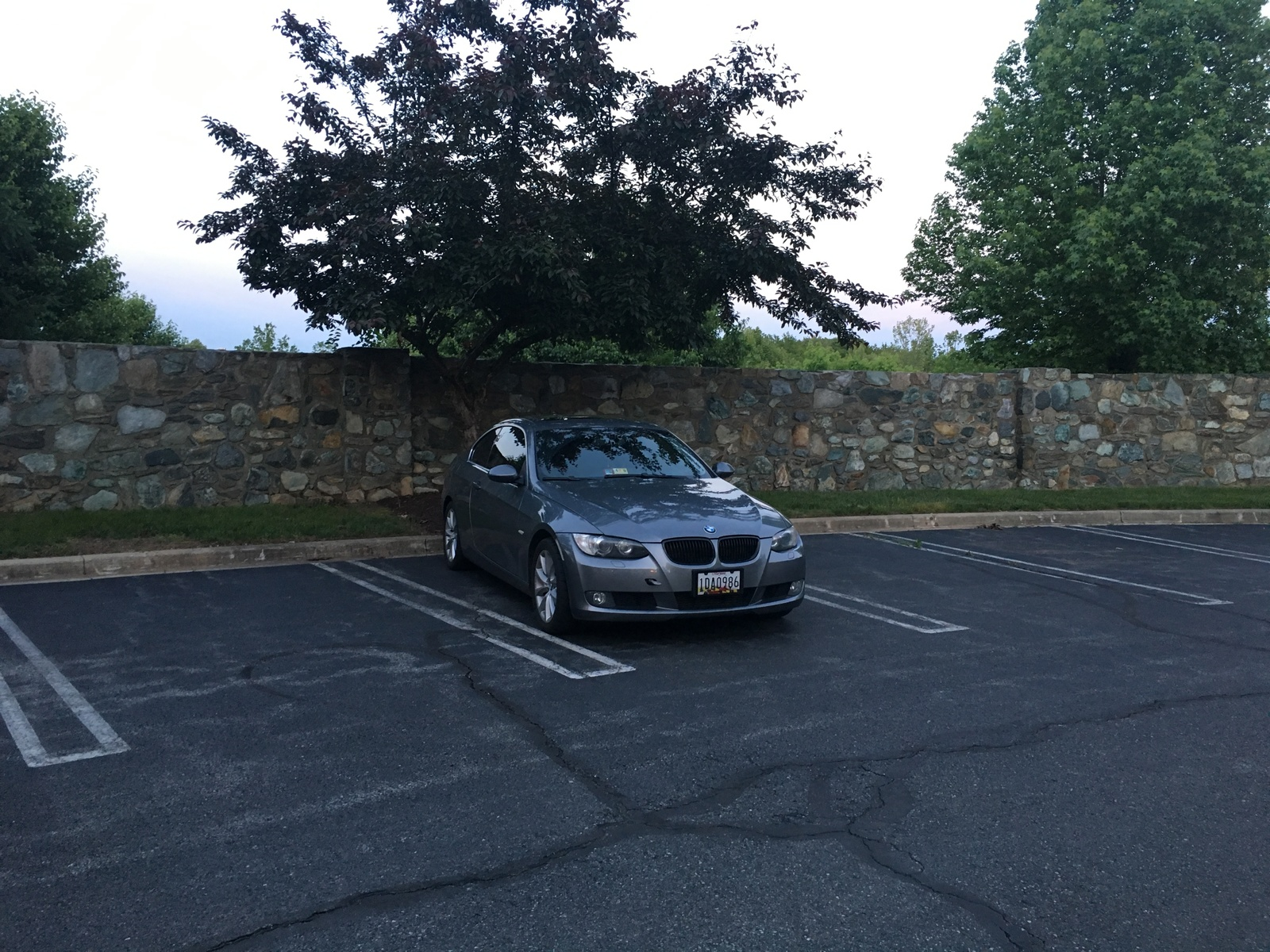 Gray 2008 BMW 335xi