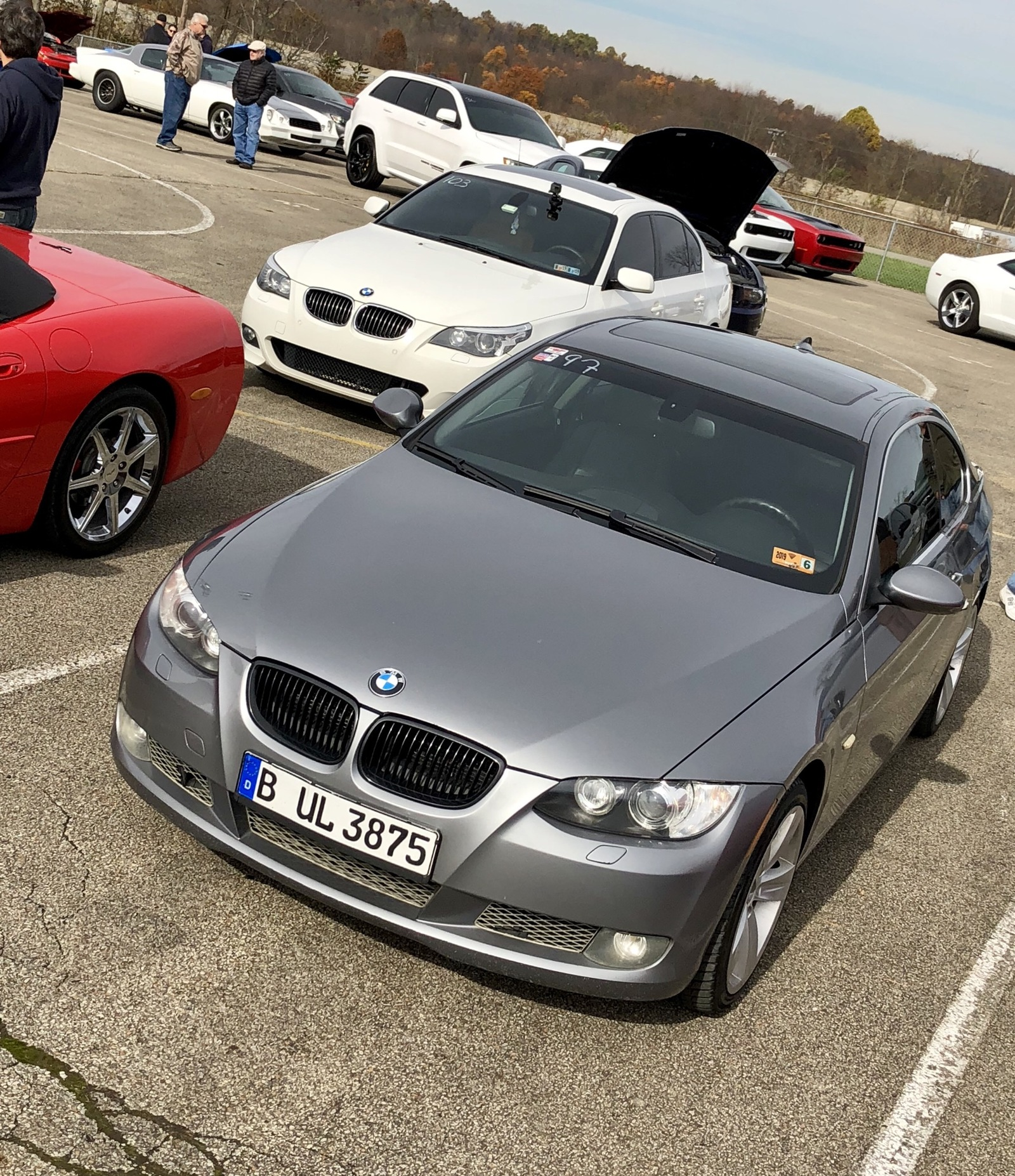 Space Grey 2008 BMW 335xi E92