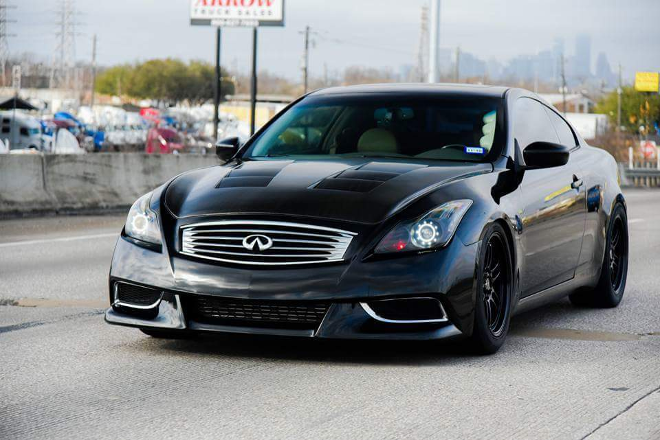 KH3 Black Obsidian 2008 Infiniti G37 Journey Greddy TT