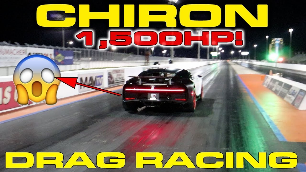 Stock 2019 Bugatti Chiron 1 4 Mile Trap Speeds 0 60 Dragtimes Com